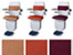 Upholstery Colours and Options Diagram